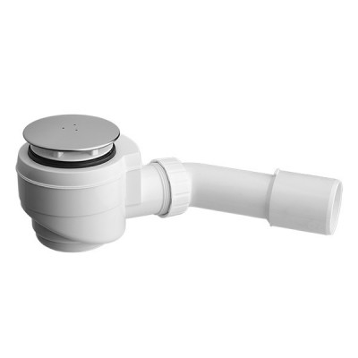 Vicario syfon brodzikowy 50 mm chrom