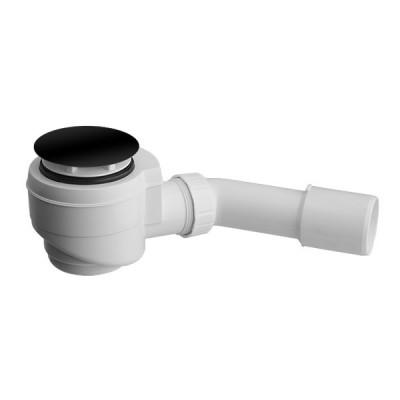 Vicario syfon brodzikowy 50 mm czarny