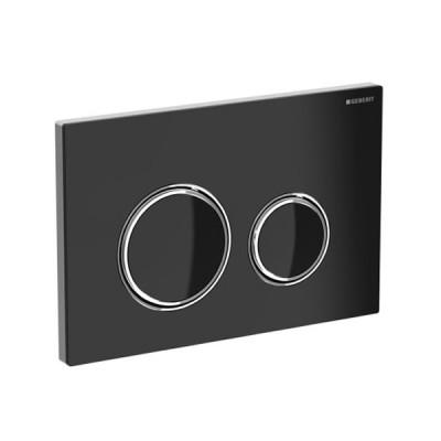 Geberit Sigma 21 przycisk spłukujący szkło czarne 115884SJ1