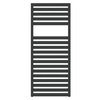 Terma Lukka grzejnik 1180x500 mm zasilanie C.O. czarny soft Z8