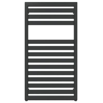 Terma Lukka grzejnik 940x500 mm zasilanie C.O. czarny soft Z8