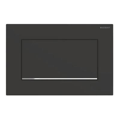 Geberit Sigma 30 1M przycisk spłukujący czarny mat 115893141