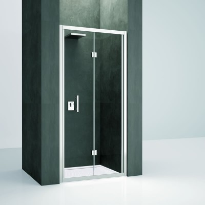 Novellini Kali S drzwi do wnęki składane 75 cm