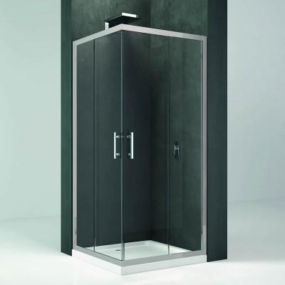 Novellini Kali A kabina kwadratowa drzwi przesuwne 80x80 cm