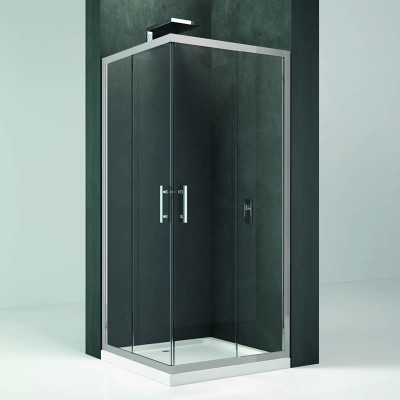 Novellini Kali A kabina kwadratowa drzwi przesuwne 120x120 cm
