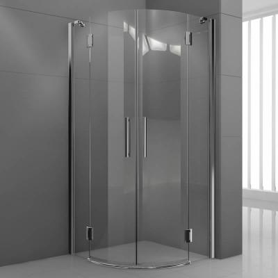 Novellini Modus R kabina półokrągła drzwi uchylne 100x100 cm