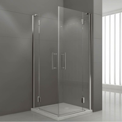 Novellini Modus A kabina kwadratowa drzwi uchylne 90x90 cm