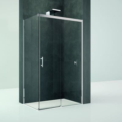 Novellini Kali PH+FH kabina prostokątna drzwi rozuwane 100x90 cm
