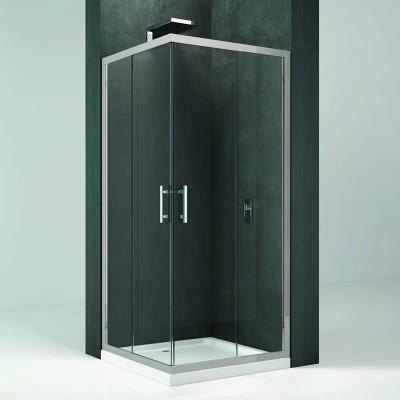 Novellini Kali A kabina prostokątna drzwi rozuwane 90x80 cm