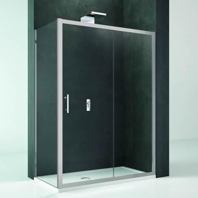 Novellini Kali 2P+F kabina prostokątna drzwi rozuwane 120x80 cm