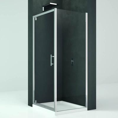 Novellini Kali G+F kabina prostokątna drzwi uchylne 90x80 cm