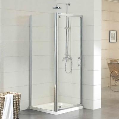 Kermi Acca kabina prostokątna drzwi uchylne 90x80 cm