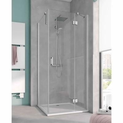 Kermi Osia kabina prostokątna drzwi uchylne 120x90 cm prawa