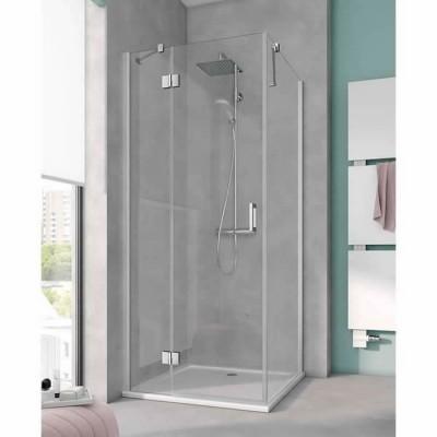 Kermi Osia kabina prostokątna drzwi uchylne 120x90 cm lewa