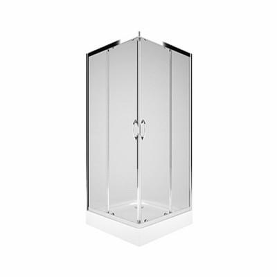 Koło Rekord kabina kwadratowa drzwi rozsuwane 80x80 cm