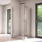 Sanswiss Solino kabina prysznicowa kwadratowa 70 cm SOL107005007+SOLT107005007