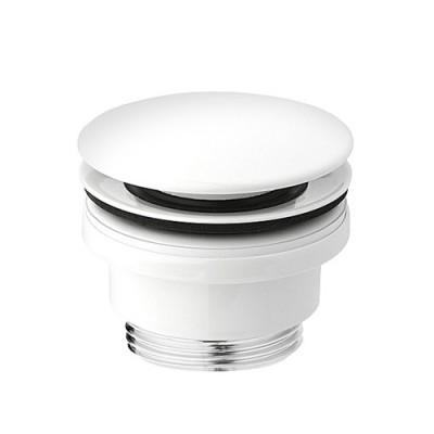 Vedo korek klik-klak do umywalki okrągły biały mat
