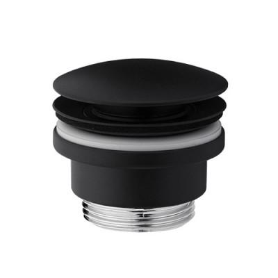 Vedo korek klik-klak do umywalki okrągły czarny