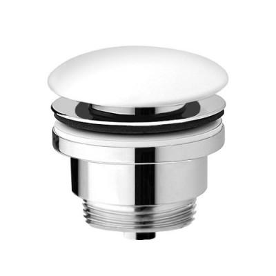 Vedo korek klik-klak do umywalki okrągły ceramiczny biały