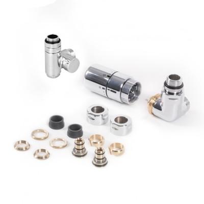 Terma zestaw trójosiowy termostatyczny z możliwością montażu grzałki prawy chrom WRZTCG5CR