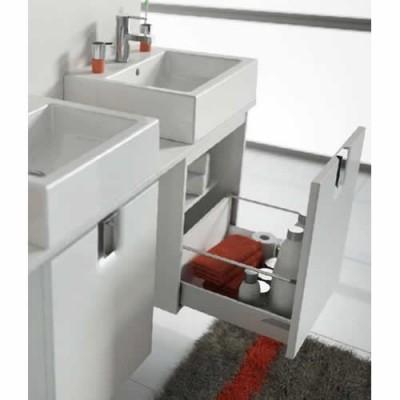 Koło Twins szafka podumywalkowa wisząca 60x57x46 cm z 1 szufladą