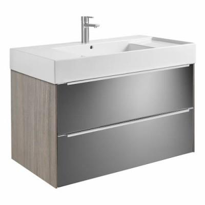 Roca Inspira zestaw łazienkowy Unik 100 cm z szufladami