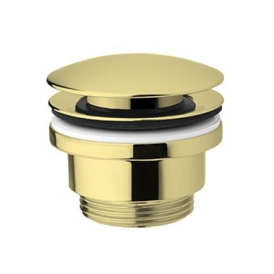 Demm korek klik-klak do umywalki okrągły złoty