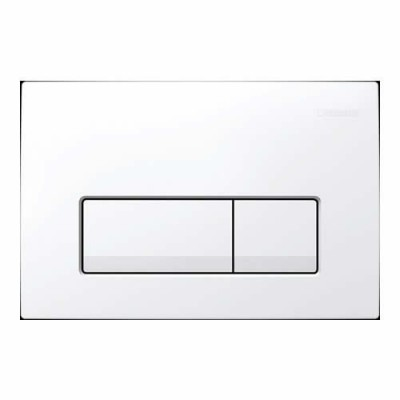 Geberit Delta 51 przycisk spłukujący biały 115105111