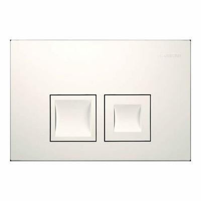 Geberit Delta 50 przycisk spłukujący biały 115135111