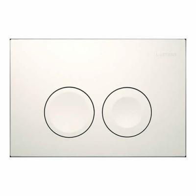 Geberit Delta 21 przycisk spłukujący biały 115125111