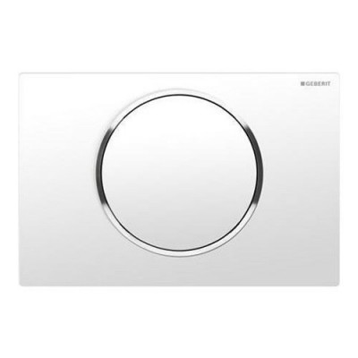 Geberit Sigma 10 przycisk spłukujący biały/chrom/biały 115758KJ5