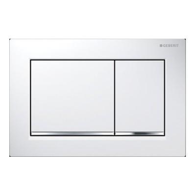 Geberit Omega 30 przycisk spłukujący biały/chrom/biały 115080KJ1