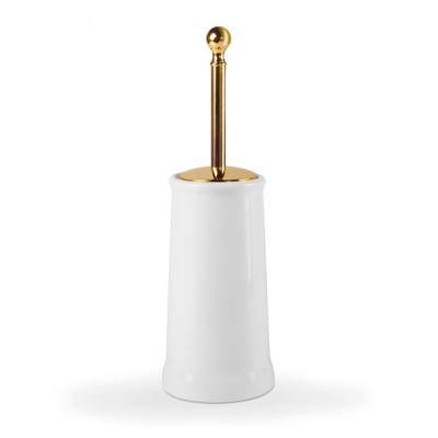 Tres Clasic szczotka WC stojąca chrom 12463604