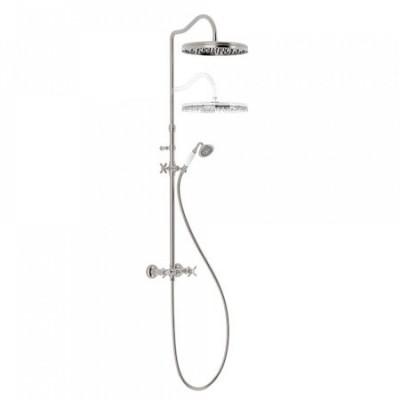 Tres Clasic zestaw natryskowy z baterią prysznicową retro 24219101
