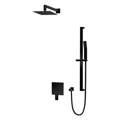 Vedo Sette Black kompletny zestaw prysznicowy czarny mat VBS7224CZ/25