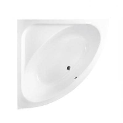 Besco Luksja wanna narożna 148x148 cm biała