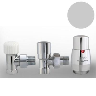 Imers zestaw termostatyczny kątowy chrom 1510/CHB