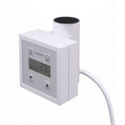 Terma KTX3 grzałka elektryczna 120W biała z kablem prostym z wtyczką WEKT301T916W