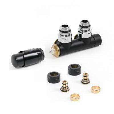 Terma zestaw zintegrowany termostatyczny prawy czarny mat Noble TZ002
