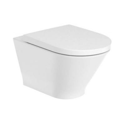 Roca Gap Round miska WC wisząca Rimless