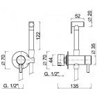 M&Z zestaw bidette ACS18121