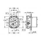 Grohe Rapido T uniwersalny podtynkowy element termostatyczny