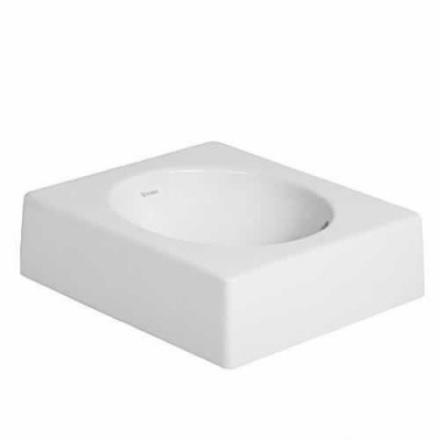 Duravit Architec umywalka nablatowa 420x420 mm bez otworu na baterię