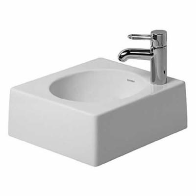 Duravit Architec umywalka nablatowa 400x400 mm bez otworu na baterię