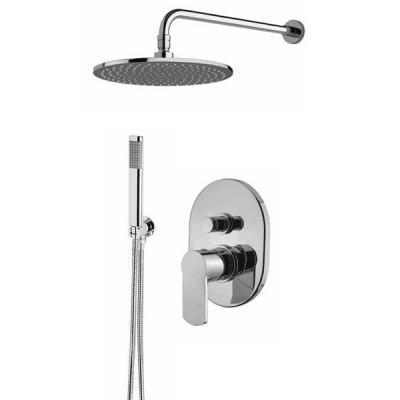 Armando Vicario Glam kompletny zestaw prysznicowy deszczownica + słuchawka