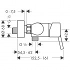 Hansgrohe Talis S bateria prysznicowa 32620000
