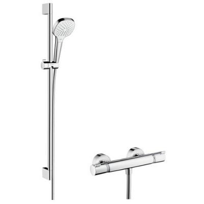 Hansgrohe zestaw prysznicowy Croma Select E Vario/Ecostat Combi 0,65 m lub 0,90 m 27081400