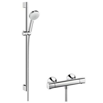Hansgrohe zestaw prysznicowy Crometta 100 Vario/Ecostat Combi 0,65 m lub 0,90 m 27030400