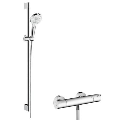 Hansgrohe zestaw prysznicowy Crometta Vario Combi 1001 CL 0,65 m lub 0,90 m