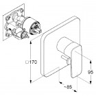 Kludi Pure&Style bateria wannowo-natryskowa podtynkowa 406500575